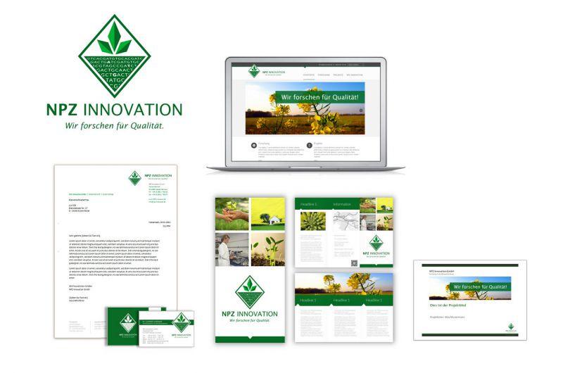 Corporate Design für NPZ Innovation
